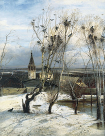 Alexei Savrasov - The Rooks Have Arrived